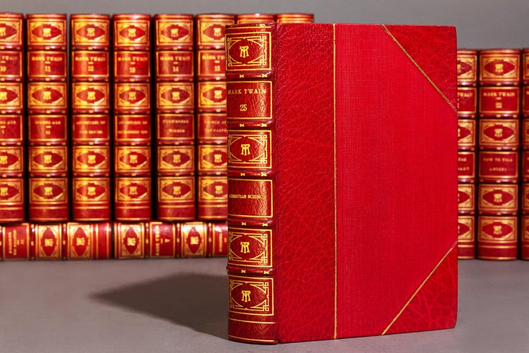 Leather Mark Twain, The Writings For Sale