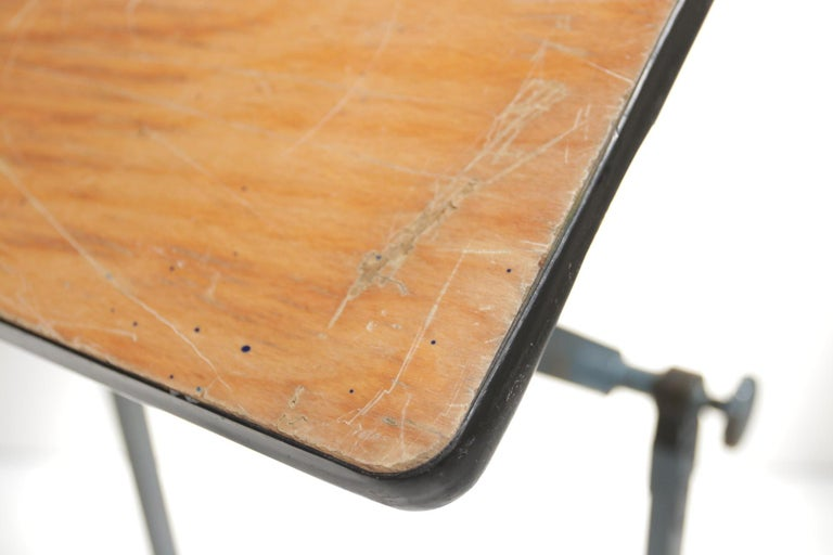 Marko Architect Drafting Table Dutch Design, 1960 For Sale 5