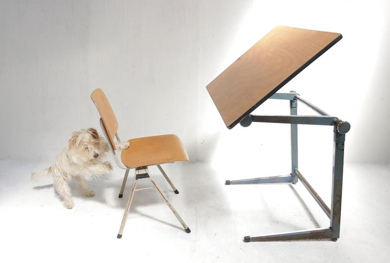 Marko Architect Drafting Table Dutch Design, 1960 For Sale 10