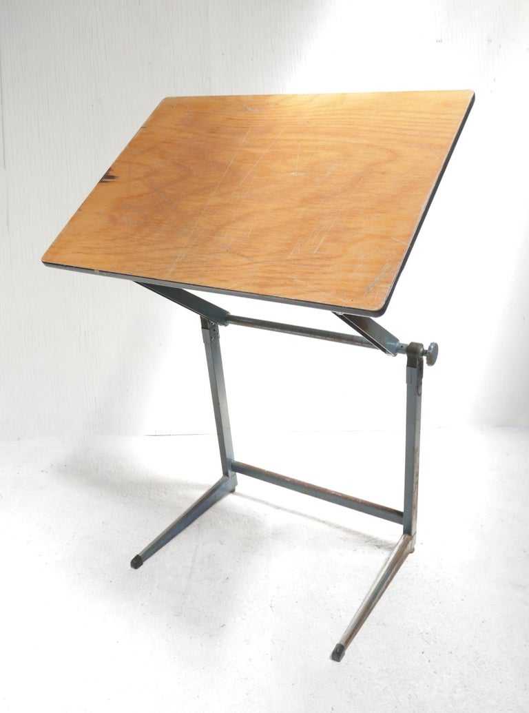 Marko Architect drafting table Dutch design from the 1960.