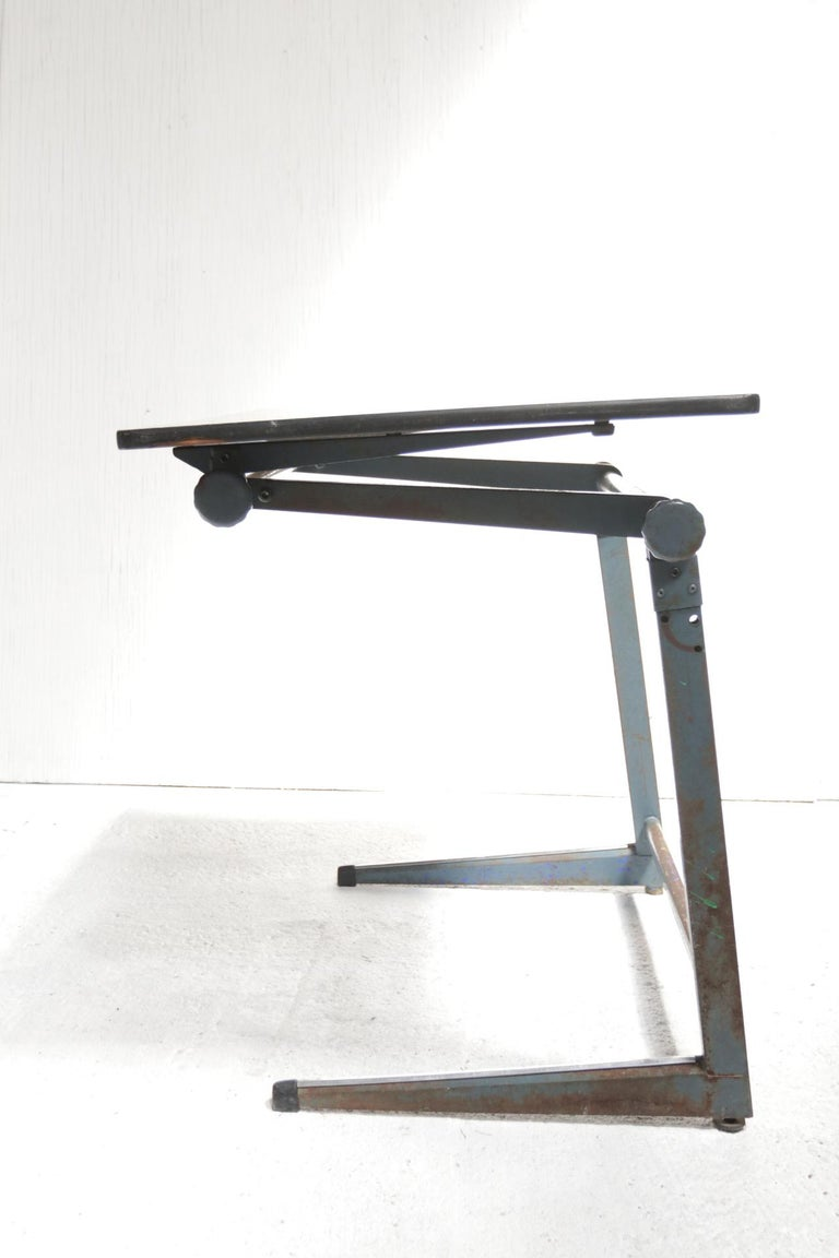 Industrial Marko Architect Drafting Table Dutch Design, 1960 For Sale