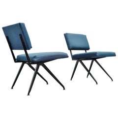Marko Industrial Easy Chairs, Pair, Holland, 1960