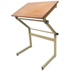 Marko Small Industrial Drawing Table, Holland, 1960s