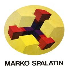 1979 Marko Spalatin 'Marko Spalatin Graphic Work 1968-1978' Yellow,Red Book