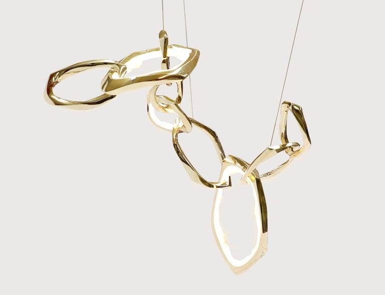 Markus Haase Circlet chandelier II, 2019