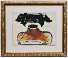 Artist loosing her head - Marlene Dumas (1953) - South African Artist - Dutch