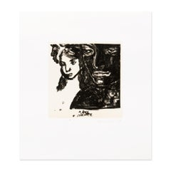 A Long Silence, Lithograph, Contemporary Art, 20th Century