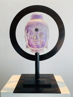 Halo Buddha - Lilac