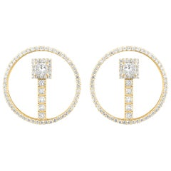Marli New York 18 Karat Gold Fifi Princess Earrings