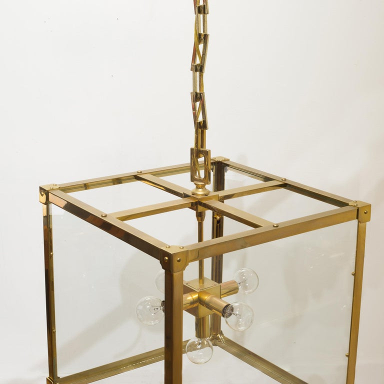 Modern Marlowe 16 Lantern by Remains Lighting-4 Available For Sale