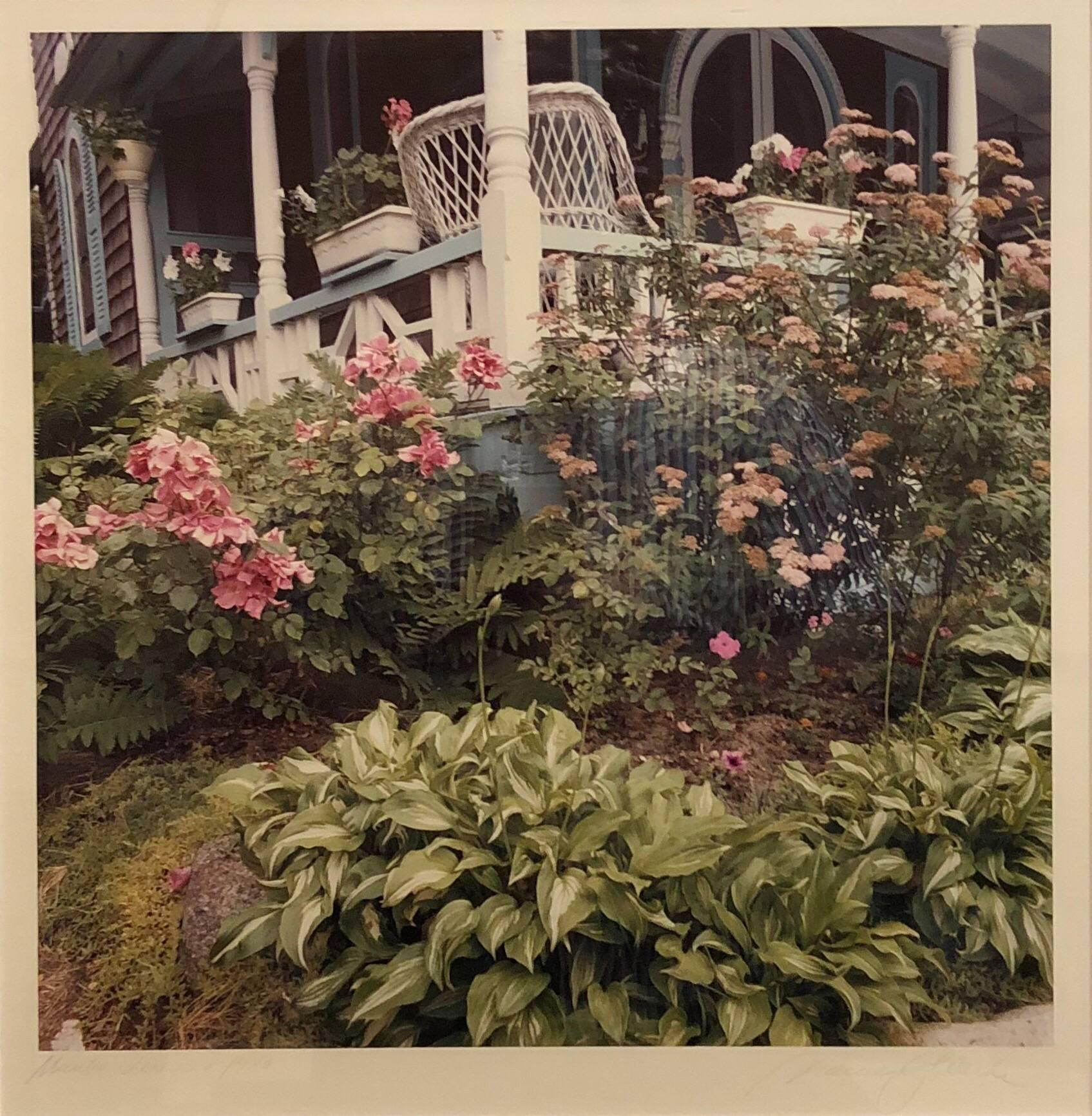 Martha's Vineyard Vintage Signed Color C Print Photograph