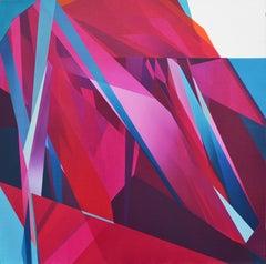 Abstraction No. 1 (magenta)