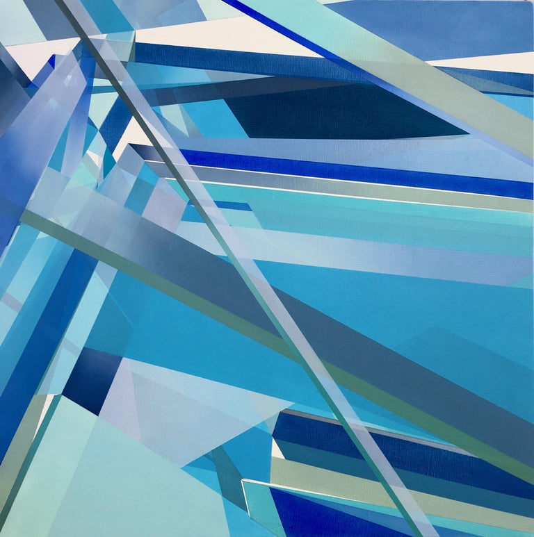 MARNA SHOPOFF is an Indianapolis-based visual artist with an emphasis on abstract painting and intuitive drawing.  She received her Bachelor of Fine Arts degree (2012) and Master of Fine Arts degree (2014) from Herron School of Art and Design,