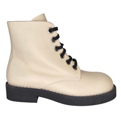 Marni Ankle Boot Ivory (41 EU)