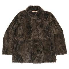 Marni Goat Fur Coat