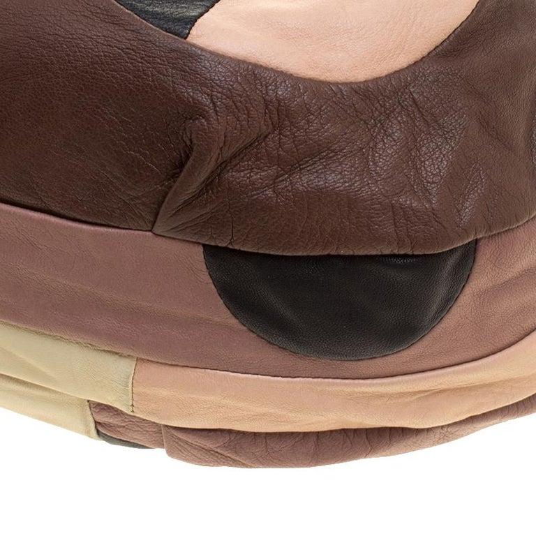 Marni Multicolor Leather Hobo For Sale 5