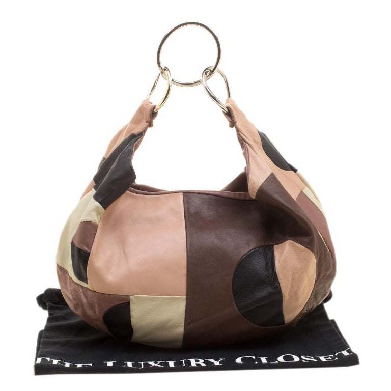 Marni Multicolor Leather Hobo For Sale 6