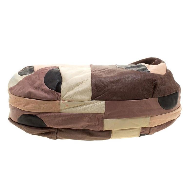 Marni Multicolor Leather Hobo For Sale 1