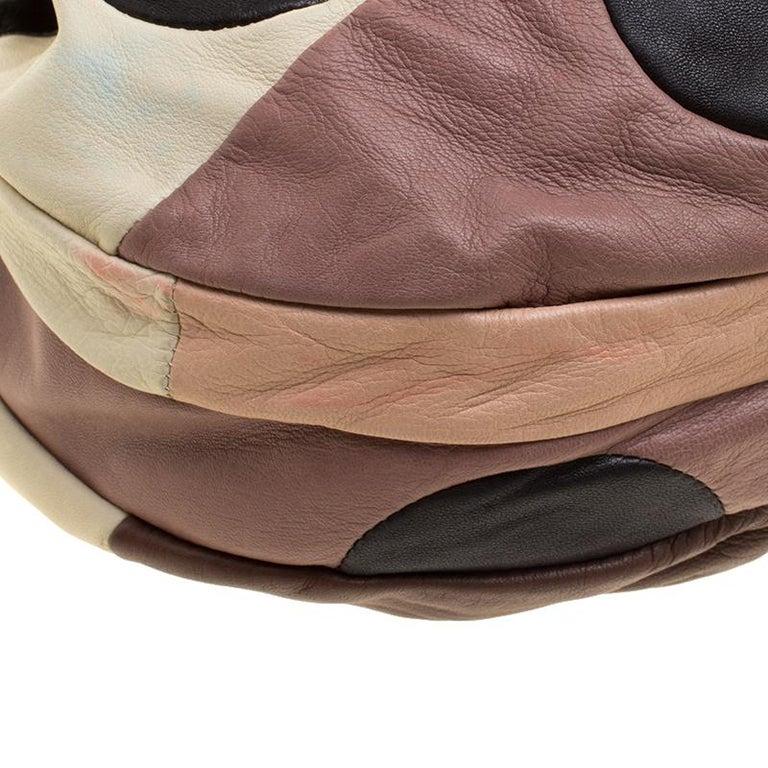 Marni Multicolor Leather Hobo For Sale 4
