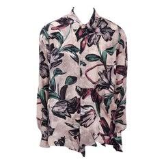 Marni Runway Printed Silk Shirt Blouse, Spring-Summer 2009
