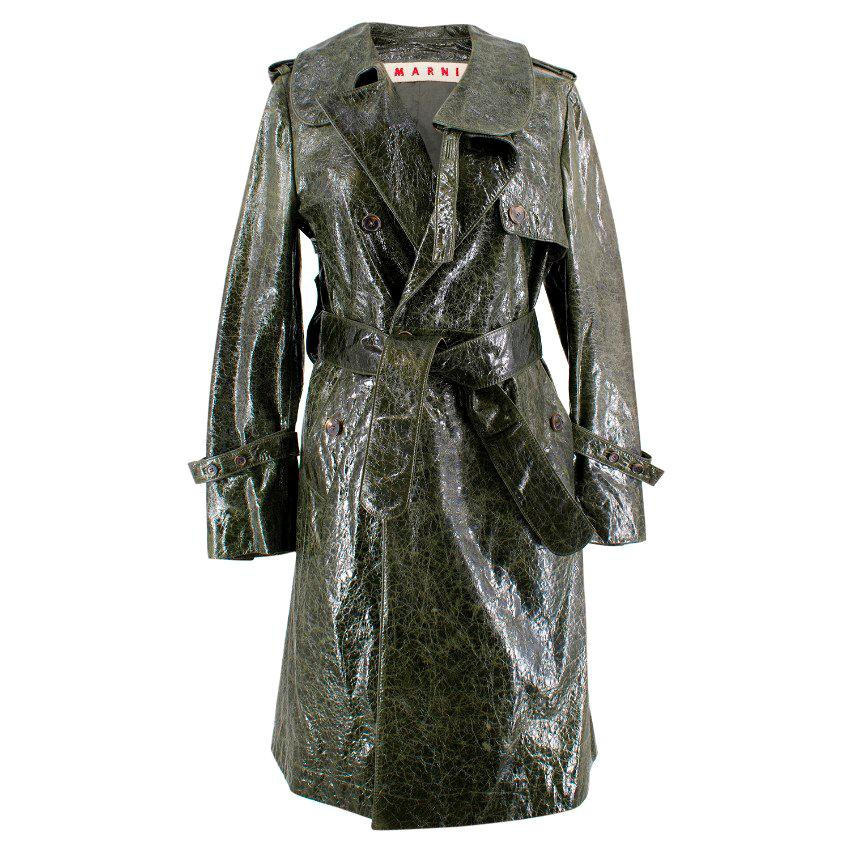 b84cf003c Leather Trench Coats - 60 For Sale on 1stdibs