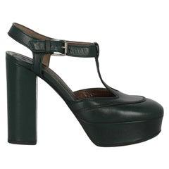 Marni Woman Pumps Green Leather IT 38.5