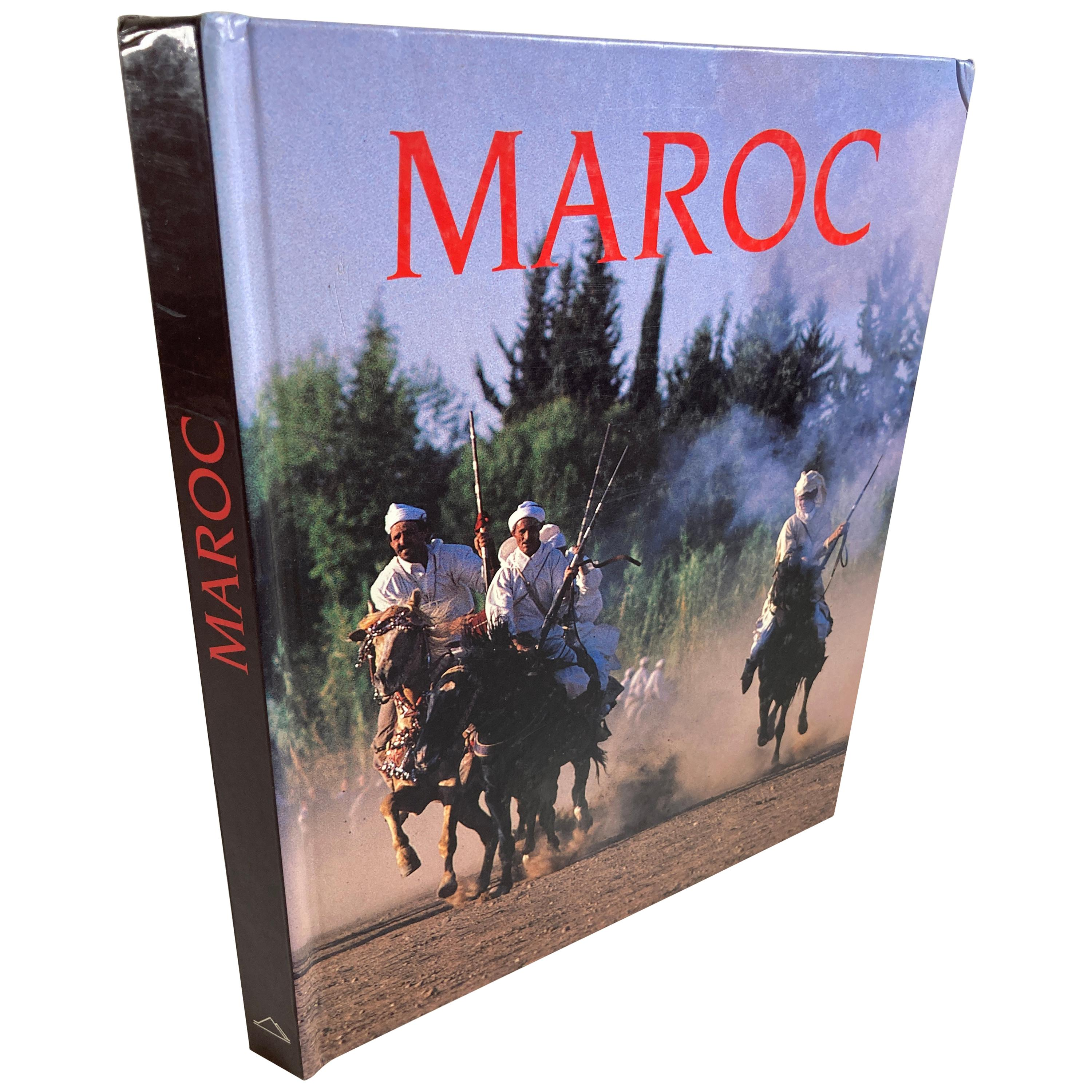 """""""Maroc Photographies"""" by Suzanne Held Text by Guy Rachet French Book"""