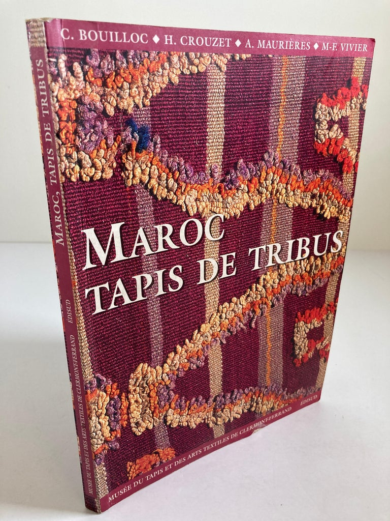 Maroc Tapis de tribus 'French' Moroccan Tribal Rugs Paperback Book For Sale 1
