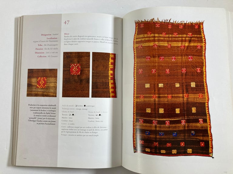 Maroc Tapis de tribus 'French' Moroccan Tribal Rugs Paperback Book For Sale 5