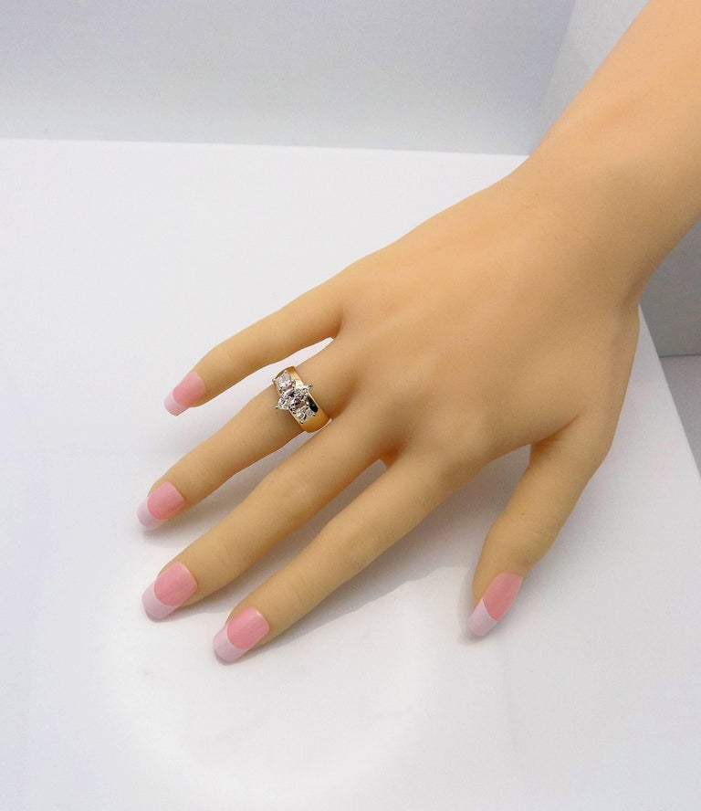 Marquise Cut Marquis and Princess Cut Diamond Band For Sale