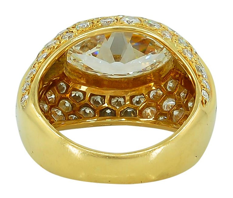 Marquise Cut Marquise Diamond Dome Ring For Sale