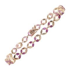 Ruby Link Bracelets