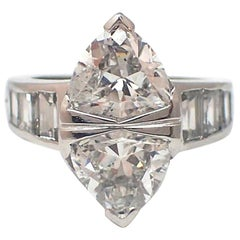 """Marquise"" Shape Diamond Ring"