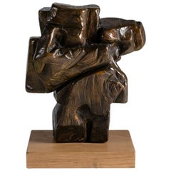 Marrazki Haundia I, Bronze Sculpture by Zigor 'Kepa Akixo', Pays Basque, 2017