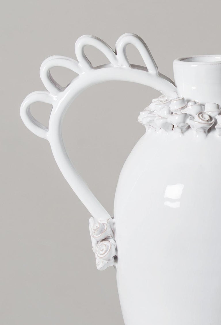 Contemporary Marria, a Reinterpretation of the Sardinian Nuptial Vase by Valentina Cameranesi For Sale