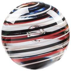Mars Glass Sphere by Vittore Frattini
