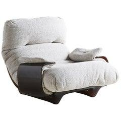 """Marsala"" Lounge Chair by Michel Ducaroy for Lignet Roset"