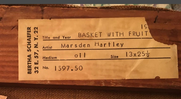 Basket with Fruit For Sale 13