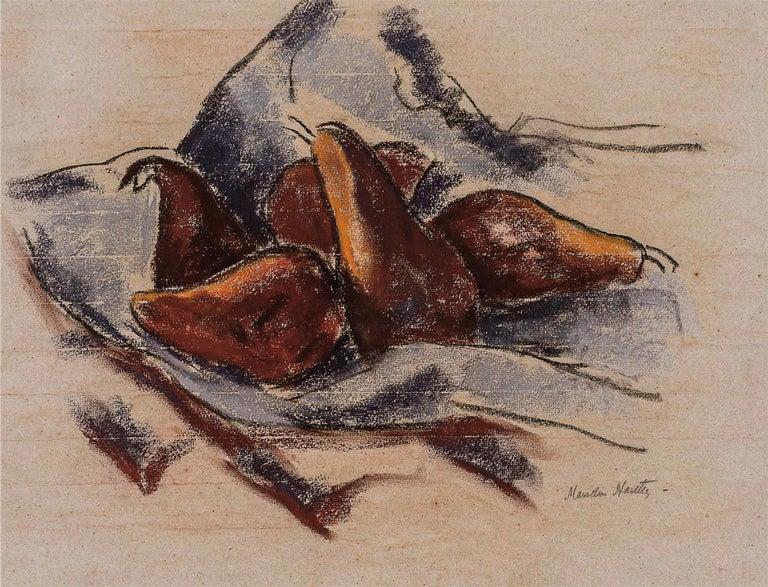 Marsden Hartley Still-Life Painting - Still Life with Pears