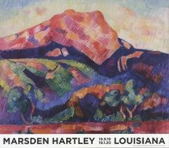 2019 Marsden Hartley 'Mont Saint-Victoire' Denmark Offset Lithograph
