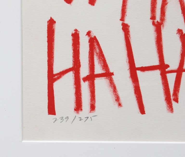 HaHaHa - Print by Marshall Borris