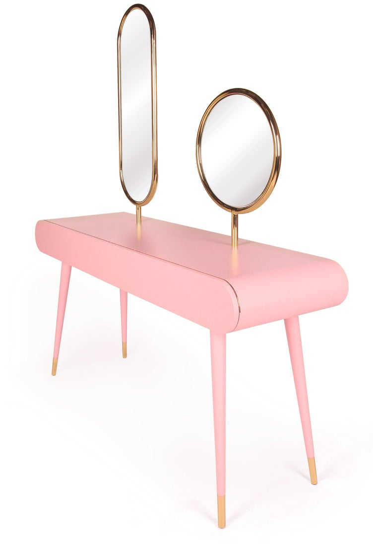 Modern Marshmallow Dressing Table, Royal Stranger For Sale