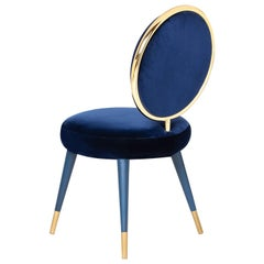 Marshmallow Graceful Dining Chair, Royal Stranger