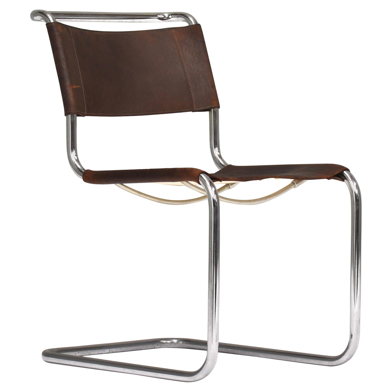 Mart Stam & Marcel Breuer Bauhaus S33 Chair for Thonet, Germany, 1926