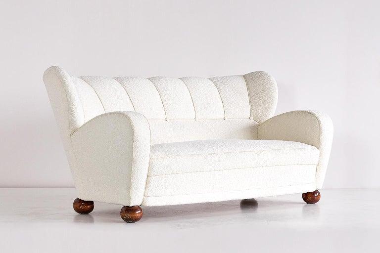Scandinavian Modern Märta Blomstedt Sofa, Finland, 1940s For Sale