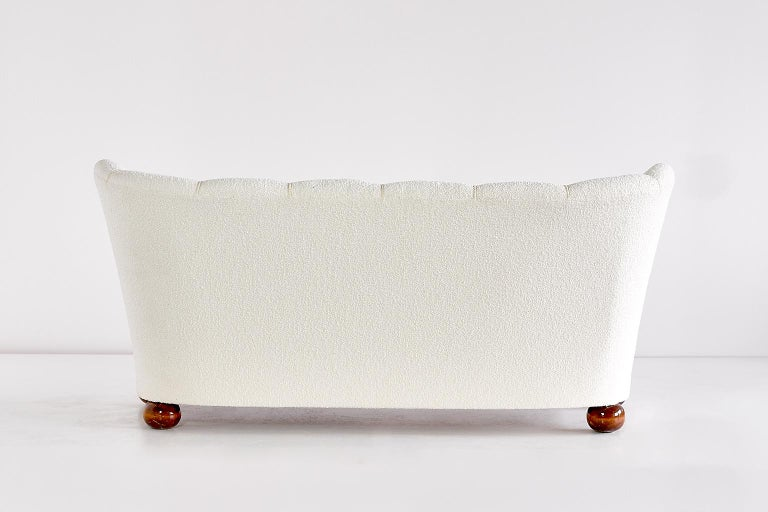 Mid-20th Century Märta Blomstedt Sofa, Finland, 1940s For Sale