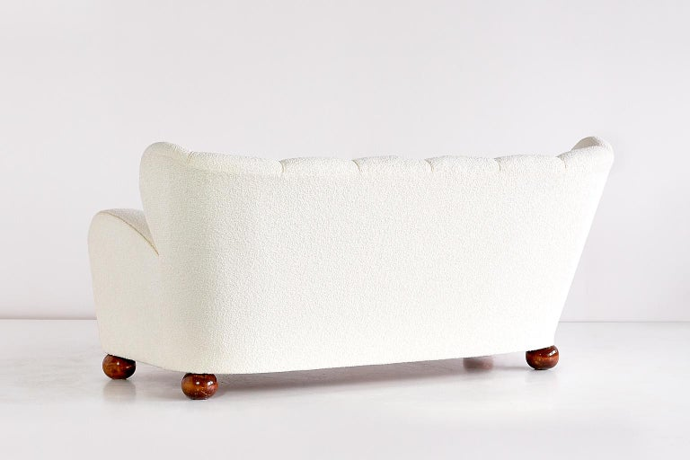 Birch Märta Blomstedt Sofa, Finland, 1940s For Sale