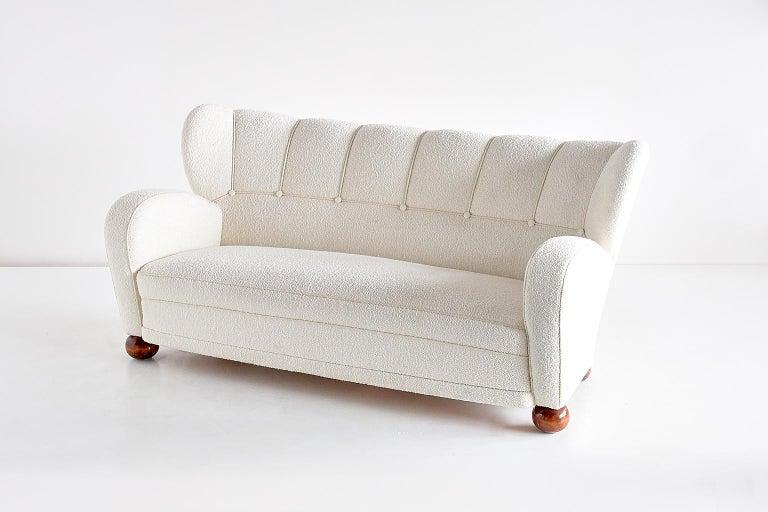 Märta Blomstedt Sofa, Finland, 1940s For Sale 1