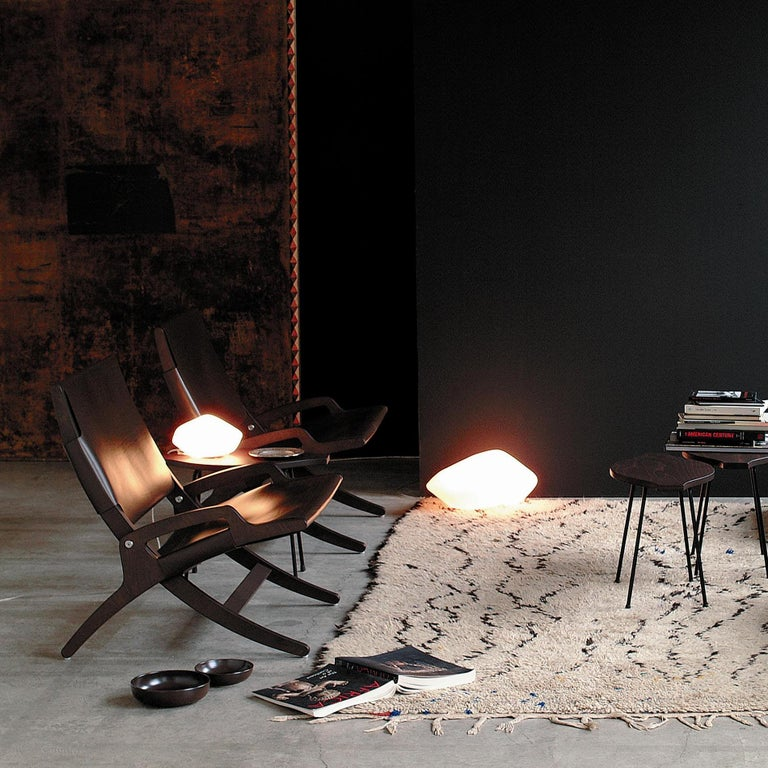 Marta Laudani & Marco Romanelli Large Table Lamp 'Stone of Glass' by Oluce In New Condition For Sale In Barcelona, Barcelona
