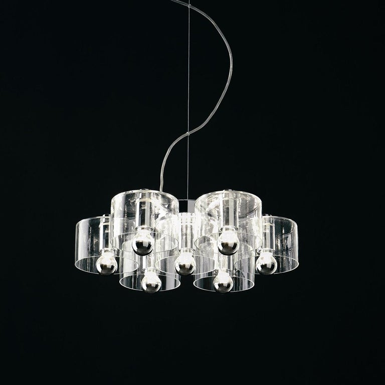 Suspension lamp 'Fiore' 423 designed by Marta Laudani & Marco Romanelli in 2007.